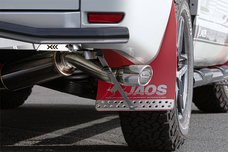 JAOS ジャオス デリカ D:5 LDA-CV1W 13.01~19.02 ディーゼル BATTLEZ マフラー ZS-S B708305 配送先条件有り