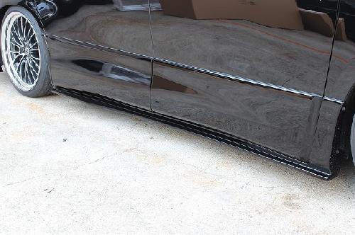 シックスセンス ヴェルファイア 20系 後期 セール 登場から人気沸騰 贈物 Zグレード サイドステップ SENSE JOULE SIXTH 未塗装 ジュール