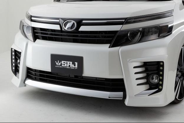 シックスセンス ヴォクシー 80系 ZSグレード用 フロントバンパーガーニッシュ 塗装済み SIXTH SENSE