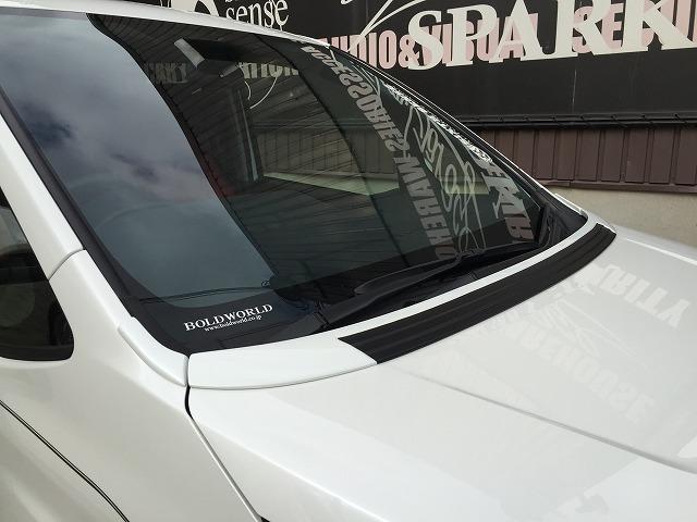 シックスセンス ノア 80系 全グレード ボンネットスポイラー 未塗装 SIXTH SENSE
