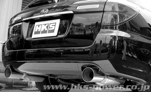 レガシィツーリングワゴン マフラー BP5 HKS 31019-AF019 サイレントハイパワー 配送先条件有り