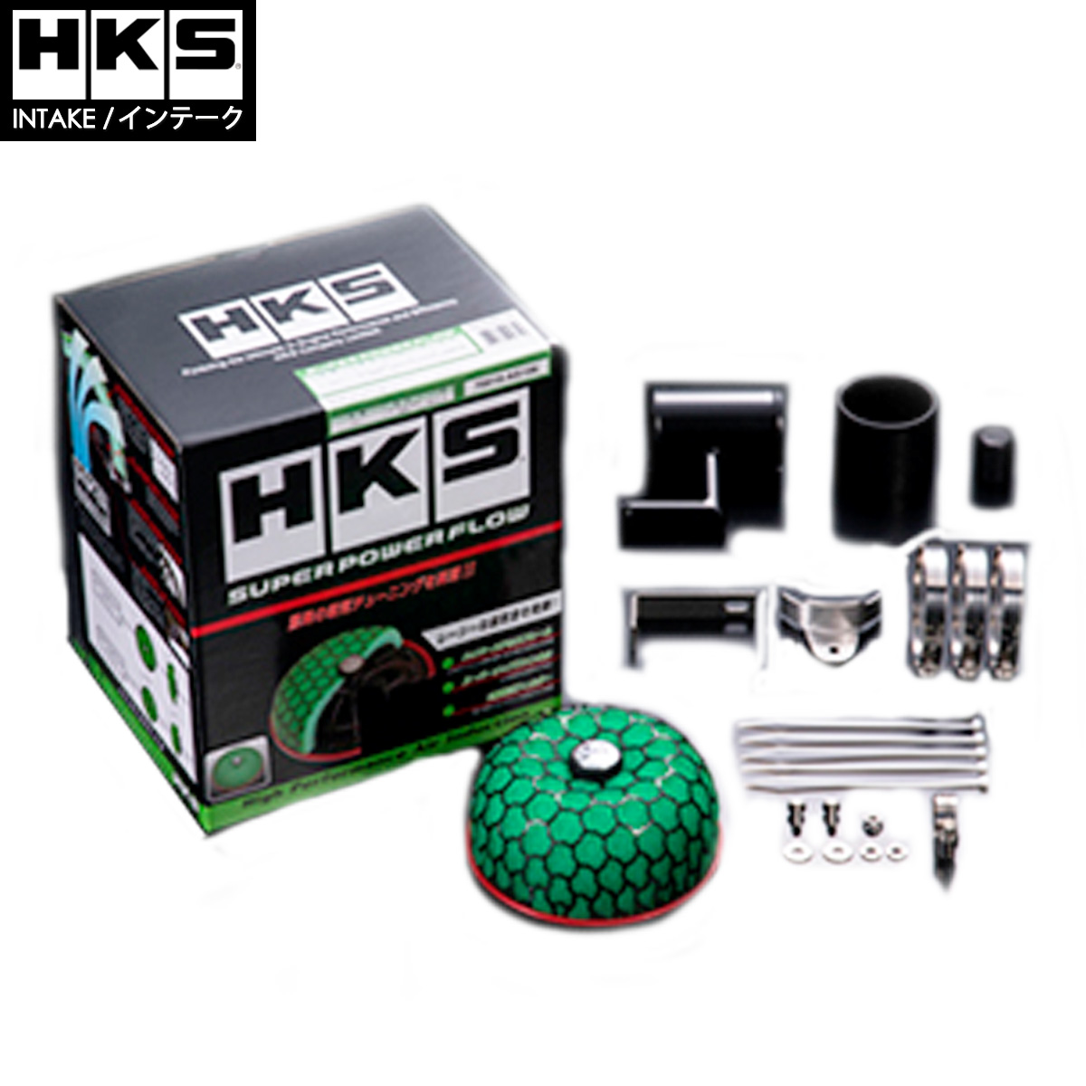 スイフト スポーツ スーパーパワーフロー エアクリ ZC33S HKS 70019-AS111 インテークシリーズ 条件付き送料無料