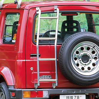 APIO アピオ ジムニー SJ30 40 JA11 12 22(JA系全車種) JB31 32(ジムニーシエラ) リアラダー 3620-1 個人宅発送追金有