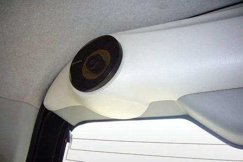 ユーアイビークル ハイエース 200系 リアゲートスピーカーキット ミドルルーフ用 パイオニア(10cm)SP付 UI-vehicle ユーアイ