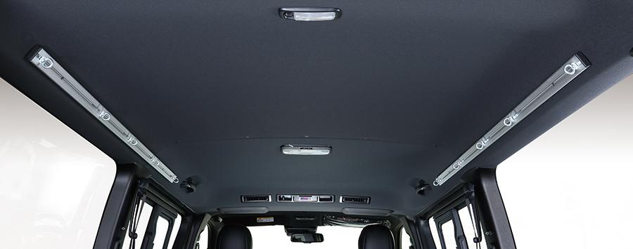 ユーアイビークル ハイエース 200系 標準 / ワイドスーパーGL アルミスライドバー UI-vehicle ユーアイ