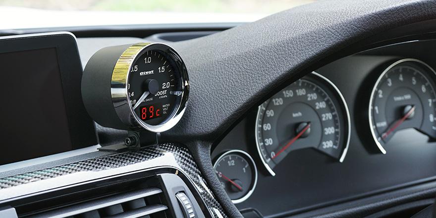 PIVOT ピボット BMW・VW等のユーロ車用 メーター 品番:DPB-E DUAL GAUGE PRO