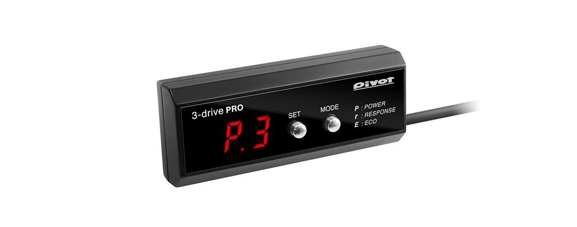 ピボット カローラアクシオ ZRE142/144 スロットルコントローラー 3DP PIVOT 3DRIVE PRO