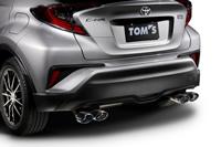 TOM'S トムス C-HR NGX50 エキゾーストシステム トムスバレル 17400-TNX52