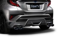 TOM'S トムス C-HR ZYX10 エキゾーストシステム トムスバレル 17400-TZX13