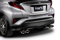 TOM'S トムス C-HR NGX10 エキゾーストシステム トムスバレル 17400-TNX11
