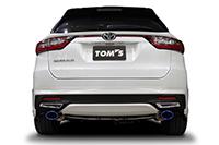 TOM'S トムス ハリアー ASU6# エキゾーストシステム トムスバレル 17400-TAU61