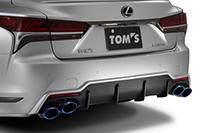 TOM'S トムス レクサス VXFA50 GVF5# エキゾーストシステム トムスバレル 17400-TVF50