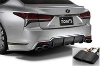 TOM'S トムス レクサス VXFA50 GVF5# エキゾーストシステム トムスバレル 17400-TVF51