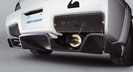 SPOON SPORTS スプーン スポーツ S2000 AP1 2 S-TAI DIFFUSER ディフューザー 71502-AP1-000 配送先条件有り