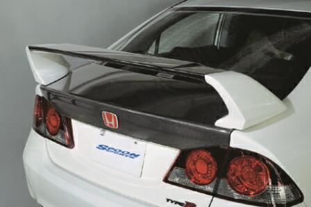 SPOON SPORTS スプーン スポーツ シビック FD2 前期/後期 CARBON TRUNK LID カーボン トランク リッド 68500-FD2-010 配送先条件有り