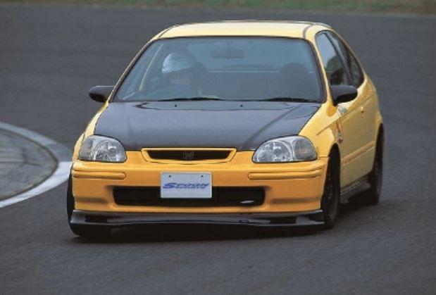 SPOON SPORTS スプーン スポーツ シビック EK4 CARBON LIP SPOILER カーボン リップ スポイラー 71110-EKA-000