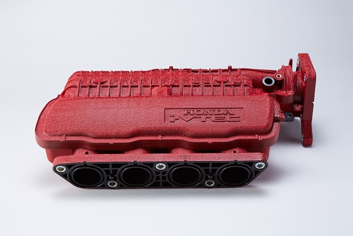 SPOON SPORTS スプーン スポーツ フィット GE8 INTAKE CHAMBER RED インテークチャンバー レッド 17110-GE8-R00