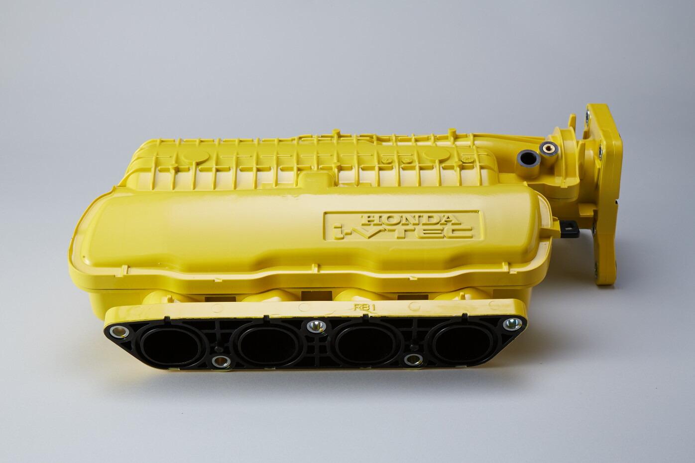SPOON SPORTS スプーン スポーツ CR-Z ZF1 2 INTAKE CHAMBER YELLOW インテークチャンバー イエロー 17110-GE8-Y00 配送先条件有り