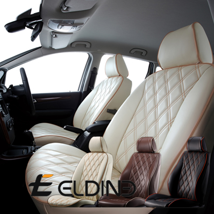 ELDINE エルディーネ DIA 大規模セール QUILT Collection シートカバー FLAT 500 500C 内装パーツ ラウンジSS キャンバストップ コレクション ラウンジ TWIN AIR 激安格安割引情報満載 品番 ポップ 8900 ダイヤキルト