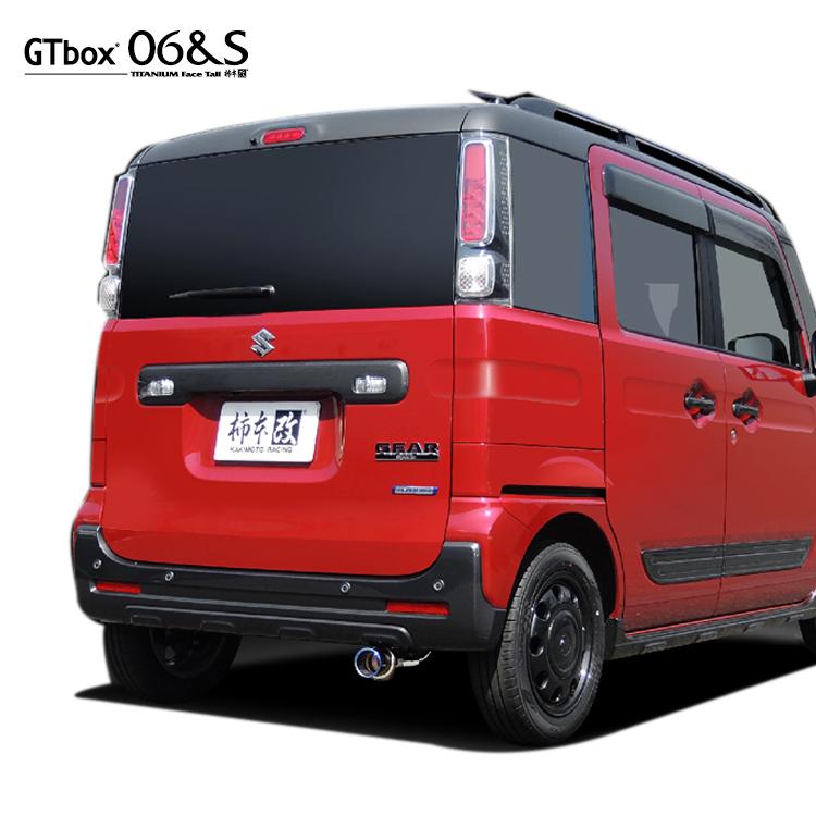 柿本 改 GTボックス06&S スペーシアギア DAA-MK53S マフラー S44335 KAKIMOTO RACING GT box 06&S 配送先条件有り
