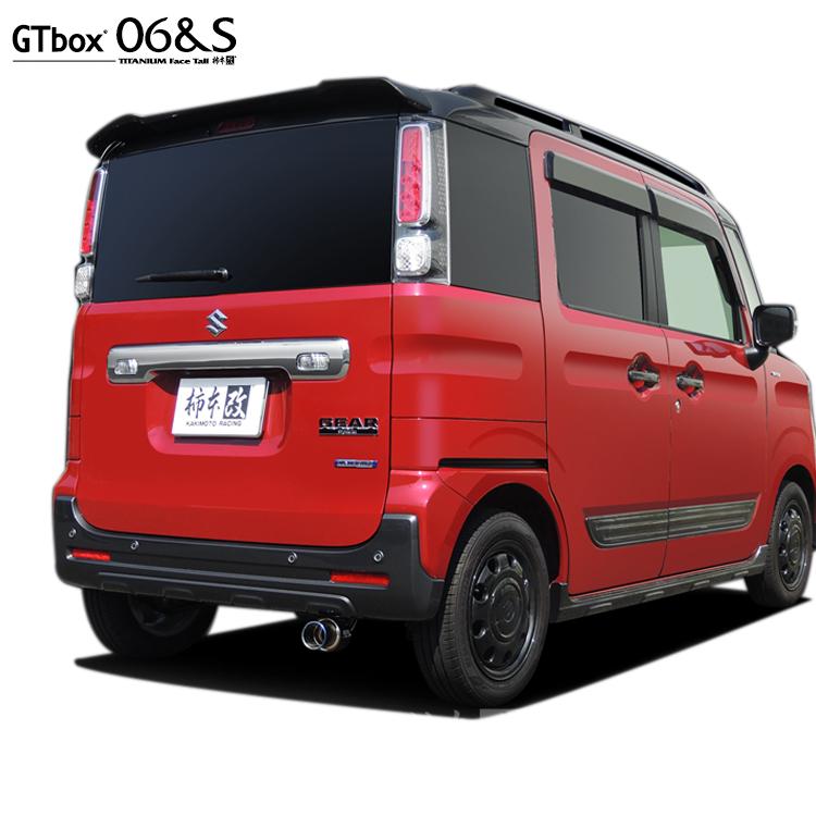 柿本 改 GTボックス06&S スペーシアギア DAA-MK53S マフラー S44338 KAKIMOTO RACING GT box 06&S 配送先条件有り