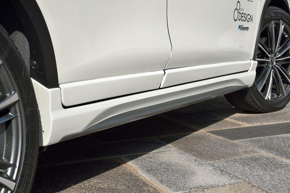 EIGHT DESIGN サイドステップ ドアパネル 未塗装 エクストレイル T32 エイトデザイン