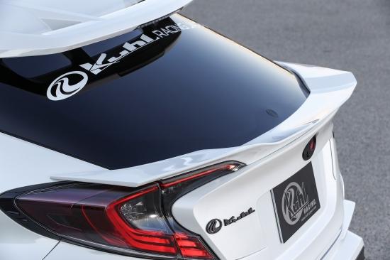 KUHL RACING C-HR NGX50 ZYX10 トランクスポイラー SG 塗装済み クール レーシング