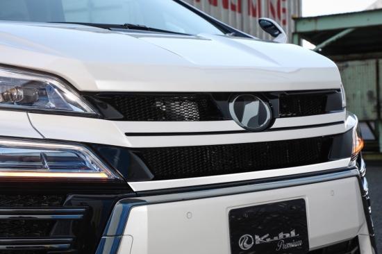 SG クール ヴェルファイア 30V-RS RACING レーシング KUHL 塗り分け塗装 Zグレード 30系 後期 フロントグリル