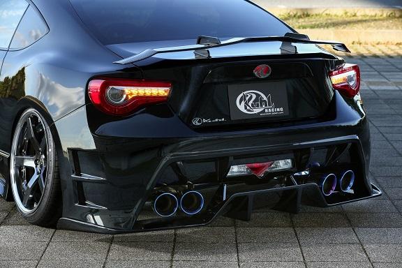 KUHL RACING 86 ハチロク リアフローティングディフューザー SG Ver.2 塗り分け塗装 01R-GT クール レーシング