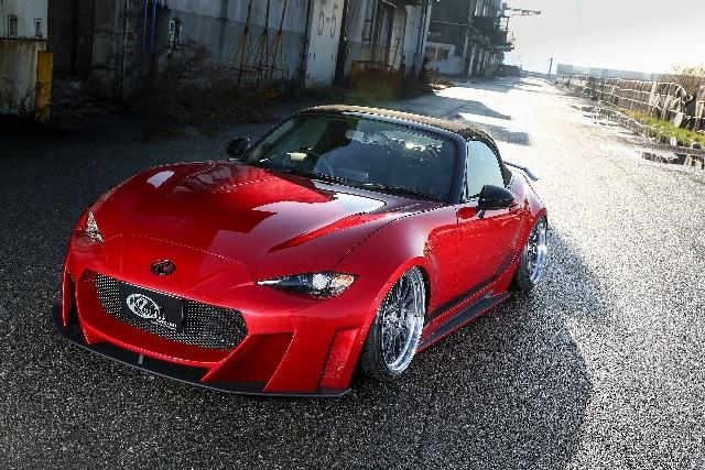 KUHL RACING ロードスター フロントディフューザー SG 塗り分け塗装 ND5-GT クール レーシング