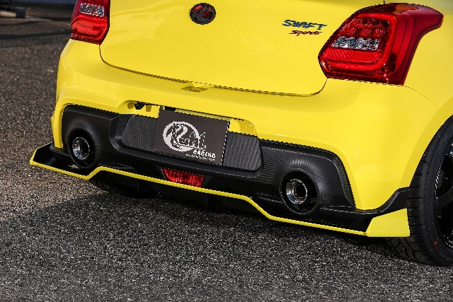 KUHL RACING スイフトスポーツ ZC33S リアフローティングディフューザー SG 未塗装 33R-SS クール レーシング