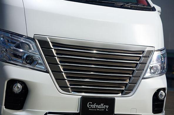 【ゴルヴァレイ/NV350 キャラバン/E26/フロントグリル/*/Golvalley】