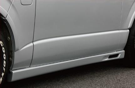 BEECAS ハイエース 200系 1 2型 標準車 サイドステップ ビーキャス K-BREAK ケイブレイク