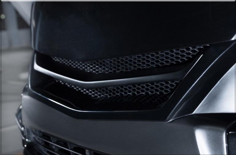 S A D カスタムジャパン ハイエース 200系 4型 ワイド ユーロボンネット S.A.D CUSTOM JAPAN AGENT エージェント