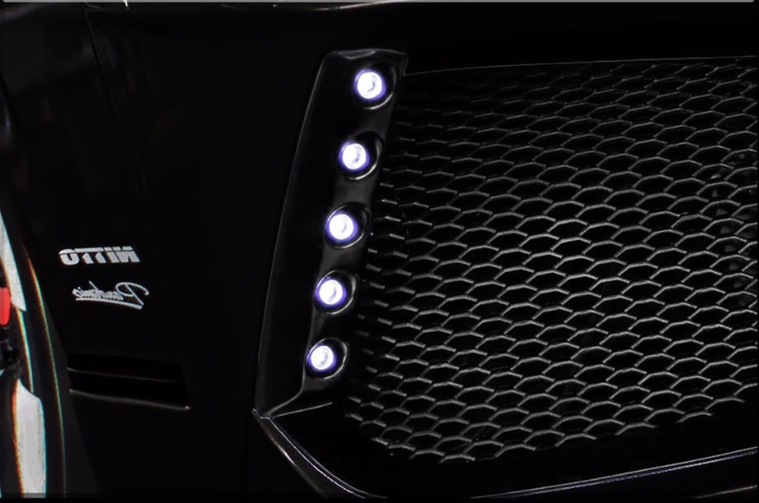 S A D カスタムジャパン ハイエース 200系 4型 ワイド 専用LEDデイライトキット S.A.D CUSTOM JAPAN STINGER スティンガー 配送先条件有り