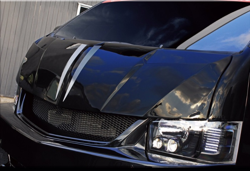 S A D カスタムジャパン ハイエース 200系 4型 ワイド フェイスキット S.A.D CUSTOM JAPAN STINGER スティンガー