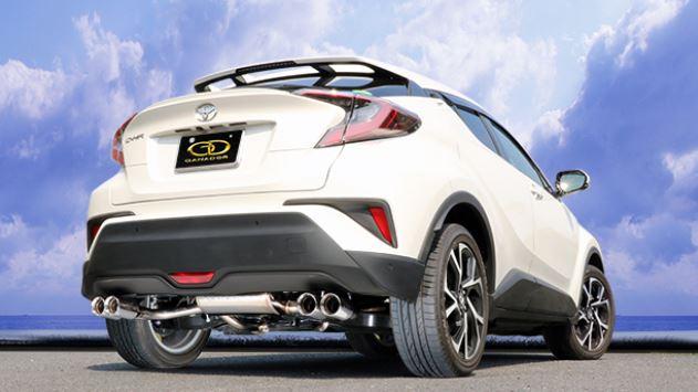 ガナドール C-HR DBA-NGX50 GVE-033PO マフラー GANADOR バーテックス 4WD SUV Vertex 4WD SUV