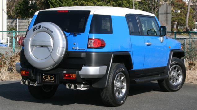 ガナドール FJクルーザー CBA-GSJ15W GDE-143 マフラー GANADOR バーテックス 4WD SUV Vertex 4WD SUV 配送先条件有り