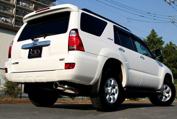 ガナドール ハイラックサーフ CBA-TRN215W GD-110 マフラー GANADOR バーテックス 4WD SUV Vertex 4WD SUV 配送先条件有り