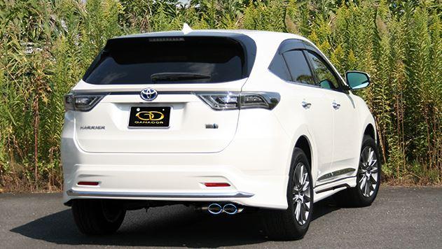 ガナドール ハリアー DAA-AVU65W GDE-642MST マフラー GANADOR バーテックス 4WD SUV Vertex 4WD SUV
