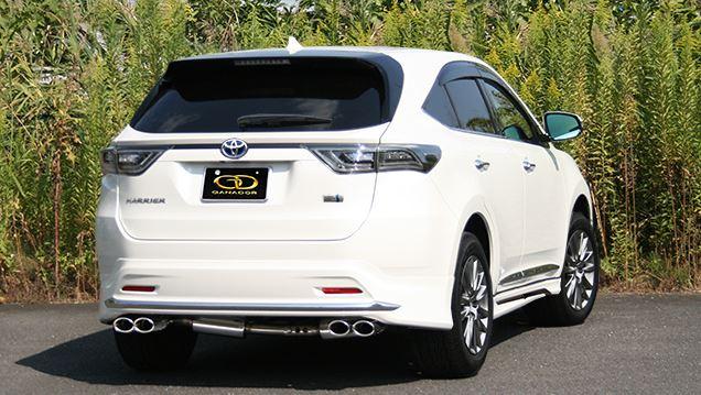 ビッグ割引 ガナドール 4WD ハリアー DAA-AVU65W GDE-643M SUV マフラー GANADOR バーテックス 4WD SUV マフラー Vertex 4WD SUV, ティーエスパーツ:1f07bfaa --- canoncity.azurewebsites.net