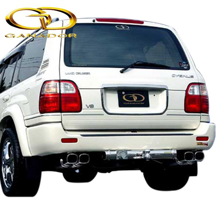 ガナドール ランクル ランドクルーザー 100系 GF GH-UZJ100W GD-100 白抜き必要 マフラー GANADOR バーテックス 4WD SUV Vertex 4WD SUV 配送先条件有り