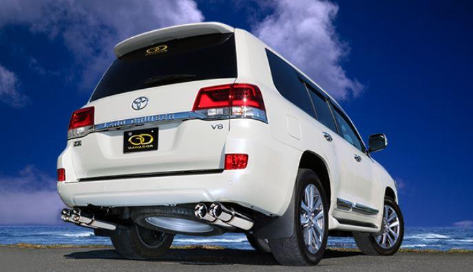 ガナドール ランクル ランドクルーザー 200系 CBA-URJ202W GVE-026PO マフラー GANADOR バーテックス 4WD SUV Vertex 4WD SUV 配送先条件有り