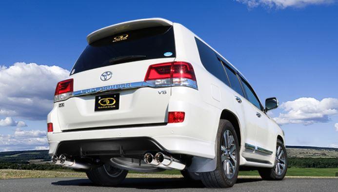 ガナドール ランクル ランドクルーザー 200系 CBA-URJ202W GVE-026APO マフラー GANADOR バーテックス 4WD SUV Vertex 4WD SUV 配送先条件有り