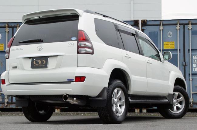 ガナドール ランクルプラド ランドクルーザープラド CBA-TRJ120W GD-103 マフラー GANADOR バーテックス 4WD SUV Vertex 4WD SUV