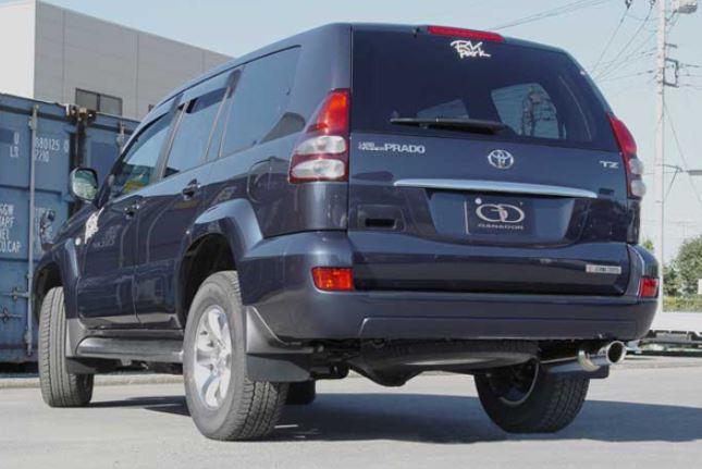 ガナドール ランクルプラド ランドクルーザープラド KN-KDJ120W 121W GD-090 マフラー GANADOR バーテックス 4WD SUV Vertex 4WD SUV 配送先条件有り