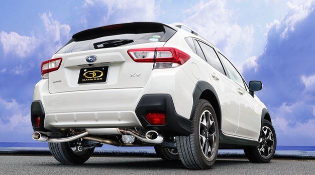 ガナドール XV DBA-GT7 GVE-035PO マフラー GANADOR バーテックス 4WD SUV Vertex 4WD SUV 配送先条件有り