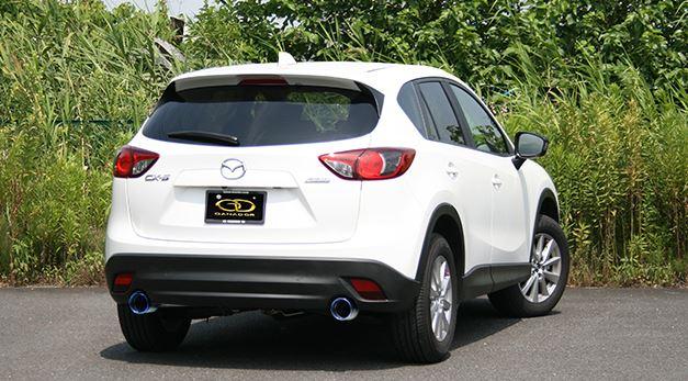 ガナドール CX-5 LDA-KE2FW GVE-023BL マフラー GANADOR バーテックス 4WD SUV Vertex 4WD SUV 配送先条件有り
