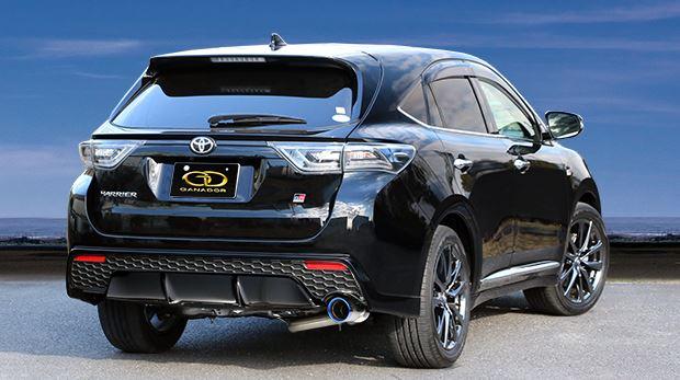 ガナドール ハリアー DBA-ASU65W GDE-654GST マフラー GANADOR バーテックス 4WD SUV Vertex 4WD SUV 配送先条件有り