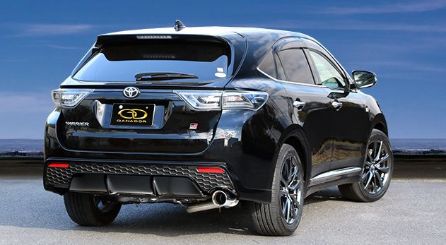 ガナドール ハリアー DBA-ASU65W GDE-654G マフラー GANADOR バーテックス 4WD SUV Vertex 4WD SUV 配送先条件有り